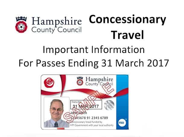 Concessionary Bus Pass