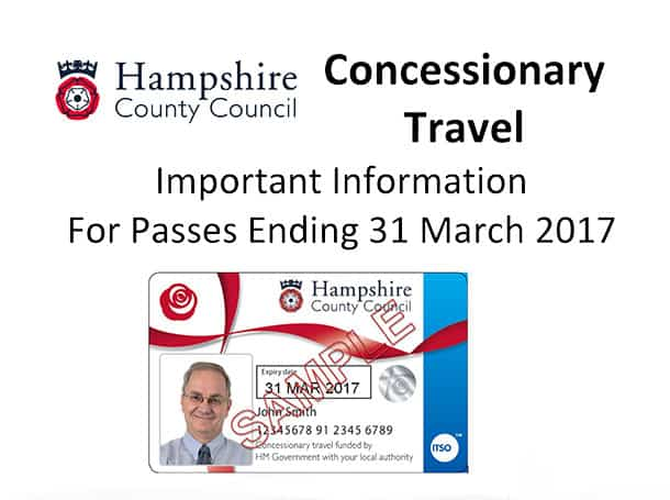 Concessionary Bus Pass